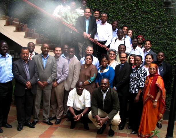 Participants of the 'Provision of Permanent Methods of Contraception in Low-Resource Settings' technical symposium in Nairobi. Photo credit: EngenderHealth